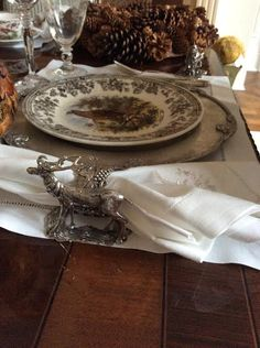 Jewelry for the table and a custom napkin ring giveaway! - The Enchanted Home