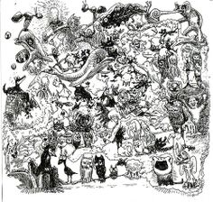 trippy cartoon drawings | Recent Photos The Commons Getty Collection Galleries World Map App ...