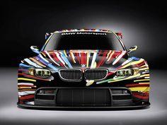 American artist Jeff Koons BMW design
