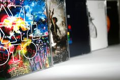 Coldplay albums. This is so cool.. All this needs is Ghost Stories (May 19th)