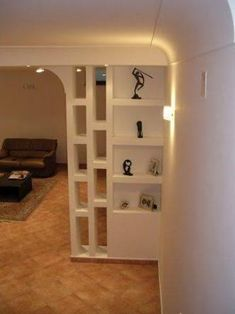 Beautiful room dividers for small space Living Room Partition Design, Room Partition Designs, Partition Walls, Partition Ideas, Room Divider Shelves, Room Divider Walls, Cheap Room Dividers, Plafond Design, Divider Design