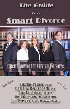 Free today on Kindle The Guide to a Smart Divorce (2012) - Experts' advice for surviving divorce by Kristine Turner, http://www.amazon.com/dp/B004K1F23A/ref=cm_sw_r_pi_dp_.PLnqb03DN81V