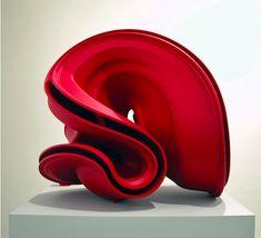 Abstracte dynamische vorm. TONY CRAGG http://www.widewalls.ch/artist/tony-cragg/ #contemporary #art #sculpture