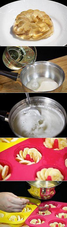 Опьяняющий десерт;)) Желе с бананом покорит тебя навсегда! — Вкусные рецепты