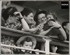 Israel 1948: New arrivals at the port of Haifa//Robert Capa