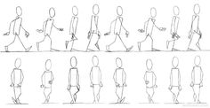 25 Best Walk Cycle Animation Videos and keyframe illustrations | Read full article: http://webneel.com/walk-cycle-animation | more http://webneel.com/animation | Follow us www.pinterest.com/webneel