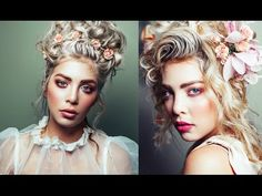 Marie Antoinette Inspired Photoshoot for Lancome - Behind the Scenes - YouTube