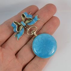Hey, I found this really awesome Etsy listing at https://www.etsy.com/listing/489445503/antique-blue-guilloche-enamel-ladies