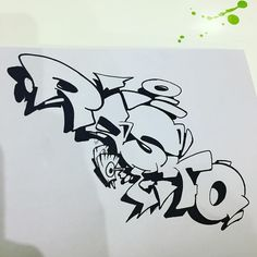 Paper #rasko #graffiti #drawing