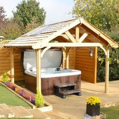 Gazebo S And Pavilions Spa By Cedar Hot Tubs Uk A Movingideas