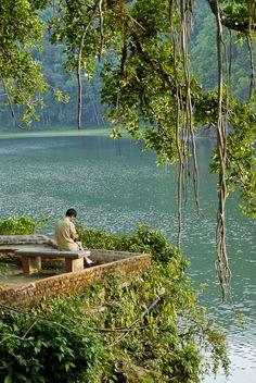 Lake Pokhara, Nepal by Konstantinos Arvanitopoulos