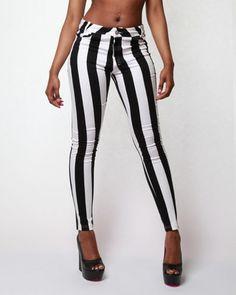 Motel Jordan Stripe Jeans - want