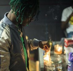 LUV vs The World comin soon. Luv Is Rage 2, Colored Dreads, Picture Video, Photo And Video, Vs The World, Butterfly Effect, Lil Uzi Vert, Celebrity Crush, Rap