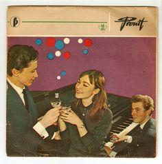 Vintage Polish LP sleeves
