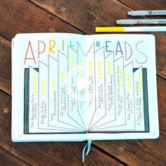 23 creative book and reading trackers for your bullet journal for bibliophiles and other lovers of reading. Easily track your reading progress with these trackers. #bulletjournal Books To Read Bullet Journal, Bullet Journal 2020, Bullet Journal Writing, Bullet Journal Layout, Bullet Journal Ideas Pages, Bullet Journal Inspiration, Journal Pages, Bullet Journals, Open Book Drawing