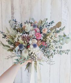 Dried Flower Bouquet, Flower Bouquet Wedding, Dried Flowers, Natural Bouquet, Flower Factory, Boho Flowers, Dried Flower Arrangements, Bride Bouquets, Diy Wedding