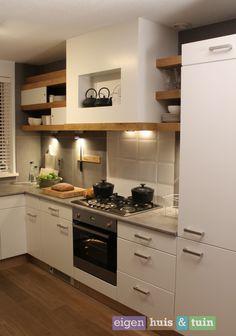 Keuken   Kitchen ★ Ontwerp   Design JY Design Joy Kitchen, Kitchen White, Kitchen Styling, Own Home, Home Kitchens, Kitchen Cabinets, Kitchen Designs, Kitchen Ideas, Track
