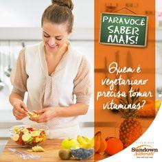 Sim! Existe a carência de vitamina B12 na dieta vegetariana, relacionada à produção de glóbulos vermelhos. Nesse caso, somente com a suplementação vitamínica. E só pode ser obtida por meio das cápsulas, pois os alimentos vegetais não suprem essa carência. #VitaminasSundownNaturals #vitaminas #dietavegetariana