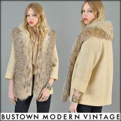 Lynx fur and wool
