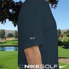 39407338326f Nike Dri-FIT Navy Golf Personalized Polo Shirt