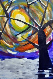 Check out student artwork posted to Artsonia from the Winter Tree project gallery at Kids Love Art.