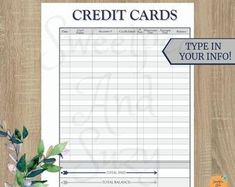 Debt Payment Log ~ Debt Tracker ~ Debt Snow Ball ~ See your progress each time you log a payment! Fillable on computer! Monthly Budget Printable, Debt Tracker, Debt Snowball, Thing 1, Teal And Grey, Budgeting Finances, See You, Lettering, Etsy