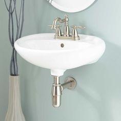 Gretchen Porcelain Wall-Mount Bathroom Sink