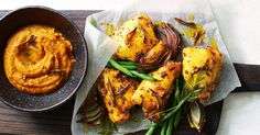 If easy and low-calorie is your goal, then this Indian spiced chicken is a dinner that won't let you down. Flecked with chilli, turmeric and mustard, it'll melt in your mouth.