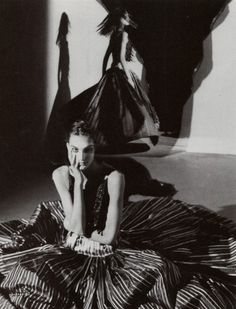"""""""Couture"""": photographed byDavid Seidner for Vogue Italia September 1989"""