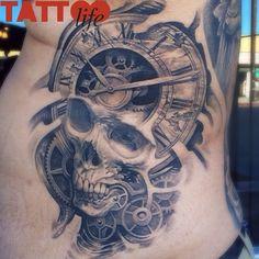 "@tattoolifemagazine's photo: ""Josh Duffy - Timeline Gallery, USA"