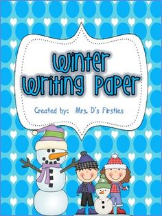 This set has 16 different winter themed papers.  It is the perfect paper for spelling tests, writing assignments, or any other classroom assignment!  Enjoy!  Thanks for checking it out!   Freebie offered under Scrappin Doodle license #TPT91994