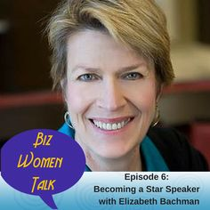 Speaking is one of the three main strategies to #BuildaKickassBiz Before you freak out at the thought, listen to today's guest, Elizabeth Bachman on Biz Women Talk for tips on becoming a speaker that draws people to the front of the room to sign up for your product/program. Listen, leave a review and get a chance to win a $100 Visa Gift card or other prizes#MakeMoneySpeaking #BuildaKickassBiz. http://apple.co/1UBq9AC http://apple.co/1UBq9AC