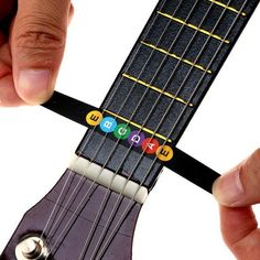 Guitar Fretboard Musical Scale Notes Map Labels Sticker Fingerboard Fret Decals for Acoustic Electric Guitar. Guitar Chords Beginner, Guitar Chords For Songs, Music Chords, Guitar Chord Chart, Ukulele Chords, Guitar For Beginners, Guitar Classes, Electric Guitar Lessons, Guitar Notes