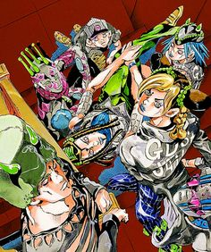 JoJo's Bizarre Adventure part 6 Stone Ocean - art by Hirohiko Araki Bizarre Art, Jojo Bizarre, Jojo's Bizarre Adventure, Jojo Anime, Jojo Parts, Manga Artist, Ocean Art, Cool Artwork, Manga Anime
