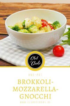 Wir lieben Gnocchi- und in der Kombination mit Mozzarella und Brokkoli sind sie wirklich umwerfend lecker!