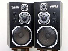 Yamaha Speakers, Hi Fi System, Hifi Stereo, Loudspeaker, Sony, Audio, Archive, Antique, Vintage
