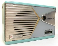 Antique Kobe Kogyo KT 63 Japan Shirtpocket Vintage Transistor Radio 1959   eBay