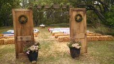 Ceremony love the doors