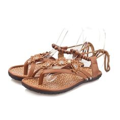 Shien(TM)Women Fashion Summer Flat Flip Flops Sandals Loafers Bohemia Shoes * For more information, visit image link.