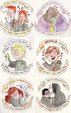 Harry Potter and the Ultimate Valentine... This is a bit late but so funny. Bahahaha Draco