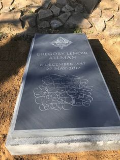Rock N Roll, Rock And Roll Bands, Rose Hill Cemetery, Tombstone Epitaphs, Tedeschi Trucks Band, Famous Tombstones, Midnight Rider, Allman Brothers, Famous Graves