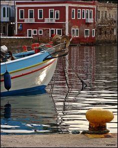 GREECE CHANNEL | Leros,the sea in the harbour