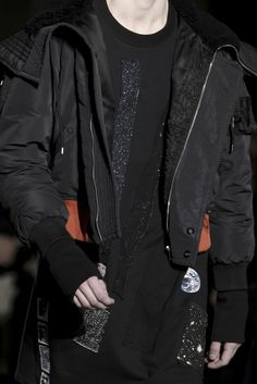 obsessed with Raf Simons bombers from his AW14 collection