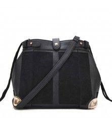 Studs Shoulder Bag