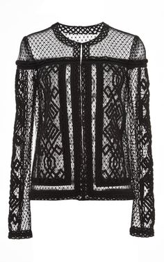 Embroidered Cardigan by J. Mendel for Preorder on Moda Operandi