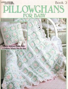 Pillowghans for baby crochet Pattern Book by CraftyCrocheting, $3.00