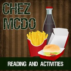 Chez McDo - a short reading w/text-dependent questions FREE SAMPLE - a short reading for intermediate to advanced French classes about McDonald's and their success in France. Ap French, Core French, French Cafe, Learn French, French Stuff, French Food, French Teaching Resources, Teaching French, Text Dependent Questions