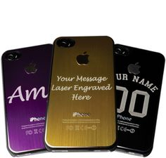 Personalised iphone case - Laser Engraved £9.00