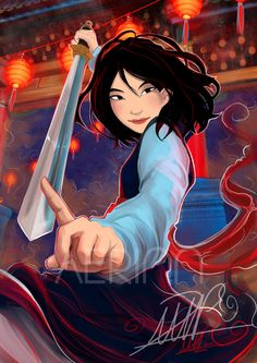 She will always forever be my favourite disney character. Mulan for the win!