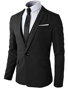 H2H Mens Slim Fit One Button Blazers Jackets With Handkerchief Pocket BLACK US M/Asia XL (KMOBL074) H2H http://www.amazon.com/dp/B00MO5VGAC/ref=cm_sw_r_pi_dp_X7fpub0ZTERZE
